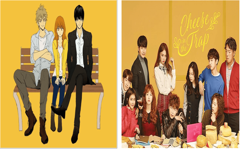 cheese in the trap| cheese in the trap korean drama | cheese in the trap webtoon