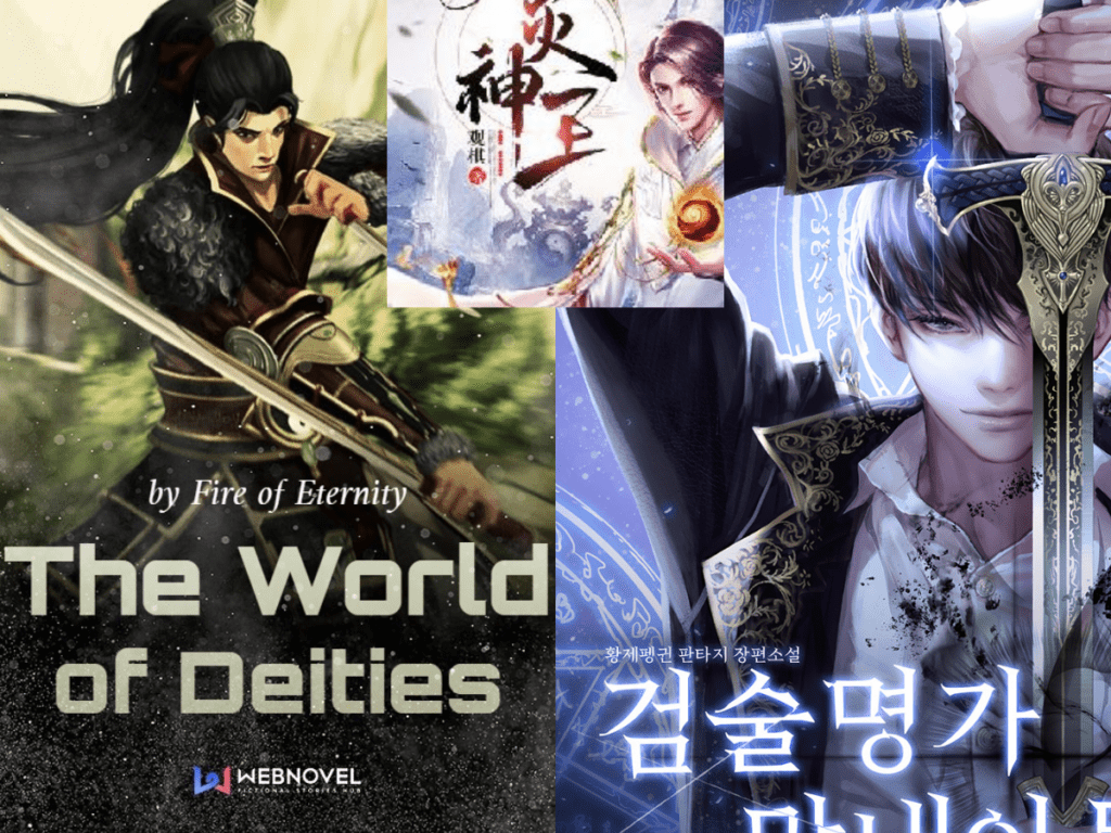 good Chinese and Korean web novels to read