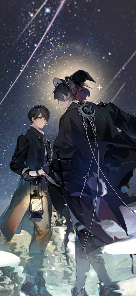Klien and Amon Lord of the Mysteries web novel